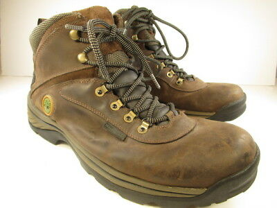 TIMBERLAND 12135 WHITE Ledge Waterproof Trail Hike Boots Men s US ... 3b73ec05d086
