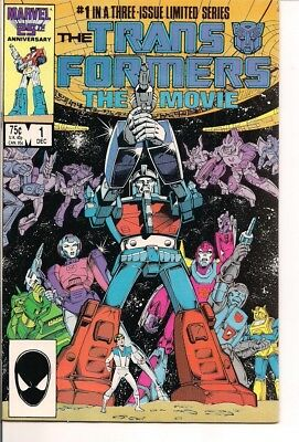 TransFormers The Movie #1 in a three-Issue series by Marvel Comics
