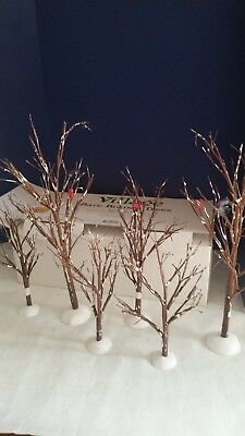 Department 56 Accessories Village Bare Branch Trees Set of 11