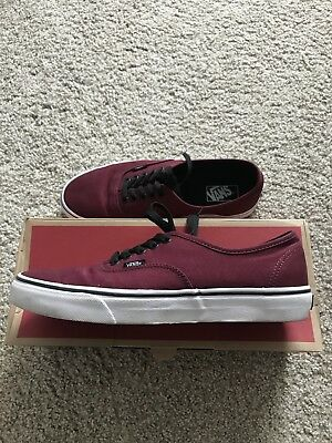 f68a7feb0fd82b VANS PORT ROYALE  Black Authentic Mens 11 -  24.00