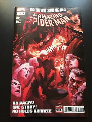 Amazing Spider-Man 800 NM Near Mint Alex Ross cover (Marvel June 2018)
