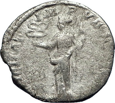 CARACALLA 197AD Rome Silver Authentic Ancient Roman Coin Felicitas i70609