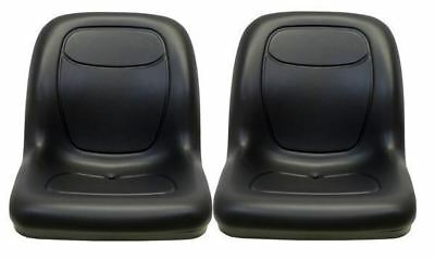 John Deere Pair(2) Black Seats fit Gator 4X2HPX 4X4HPX and 4X4Trail HPX Series