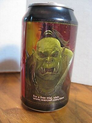 Mountain Dew Game Fuel Empty Can / World Warcraft - 2009