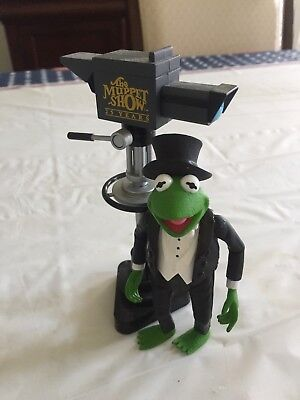 Kermit The Frog Statue With Michrophone New