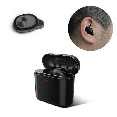 Mini Wireless Bluetooth Earphones In-ear Earbuds Headset with Mic for Smartphone