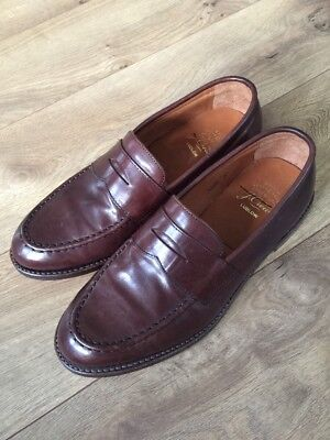 766b8cddcd3 J.crew Mens Ludlow Penny Loafers Dress Shoe A4362 Size 8 D  298 Brown
