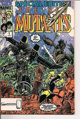 The New Mutants Special Edition #1 Marvel Comics