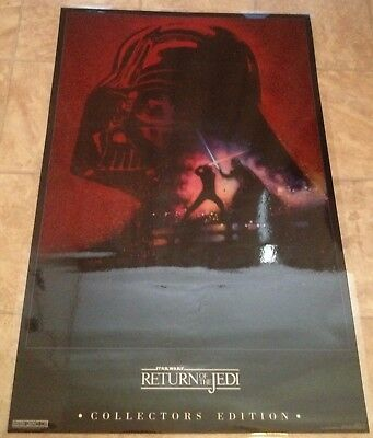 Star Wars Return of the Jedi Laminated Poster Collector's Edition - 1990s era