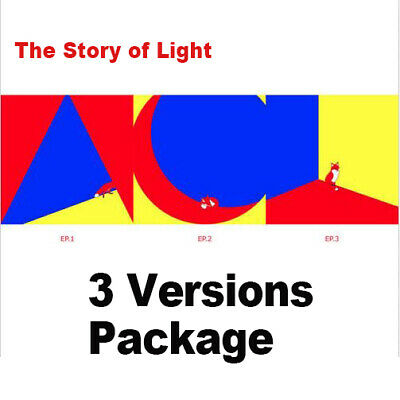 The Story of Light by SHINEE The 6th Album [Ver. EP.1 + EP.2 + EP.3 - 3 items]