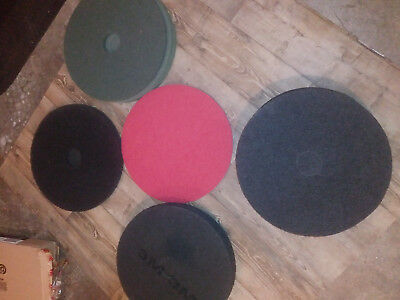 """New 20"""" Stripping, Buffing, Burnishing floor machine pads (retails $32 ea)"""