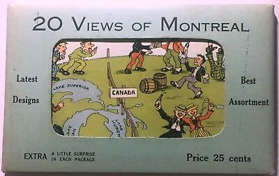 Vintage Montreal Postcards x 20 Latest Designs Best Assortment Canada