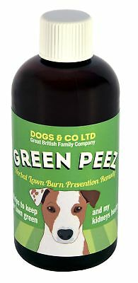 Green Peez, herbal product for dog urine grass lawn patch burn prevention
