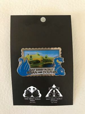 new Walt Disney World SWAN and DOLPHIN Resort Hotel Collectible Trading pin