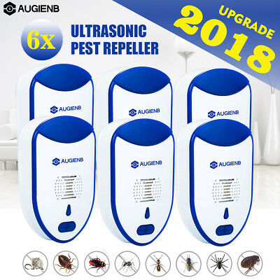 AUGIENB Ultrasonic Pest Repeller Electronic Plug Anti Mosquito Insect Fly Reject
