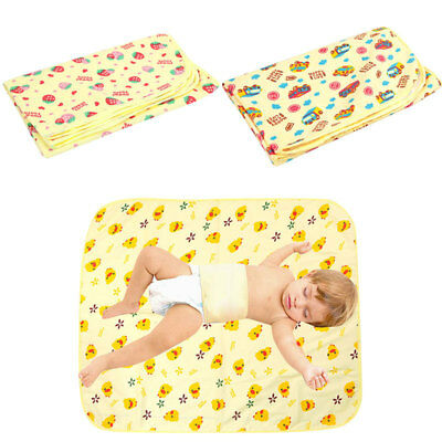 Cotton Waterproof Travel Baby Urine Pad Mat Changing Pad Cover Safety Health AU