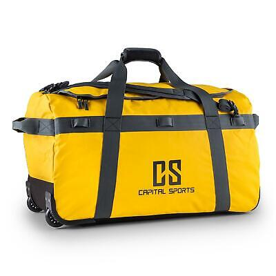 Sac A Dos Capital Sports Voyage Bagage Volume 90L Impermeable Resistant Jaune