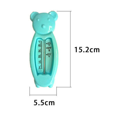 Bear Floating Water Thermometer Baby Bath Toys Water Temperature Sensor Tester