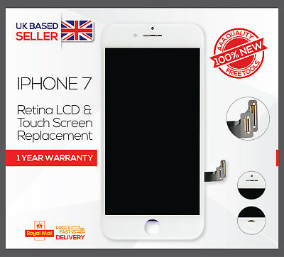 for iPhone 7 White Touch Screen LCD Display Digitizer Assembly Replacement