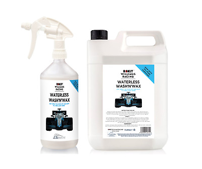 Williams Waterless Wash and Wax Car Cleaning kit 1L + 5 L bottle