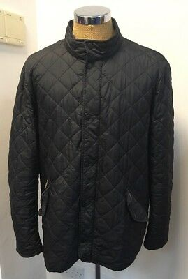 Men's Barbour Flyweight Chelsea QUILTED JACKET, Black, XXL