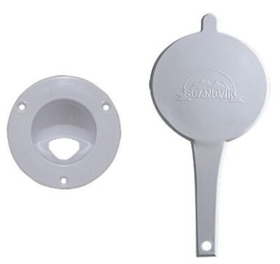 Scandvik 10029P Replacement Cap And Cup With Logo