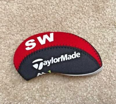 10PCS Black&Red Neoprene Taylormade M1 Golf Club Iron Covers HeadCovers