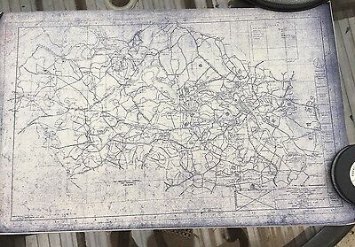 Civil War Centennial Map of The Battle of Chancellorsville 1863 Troop Movements