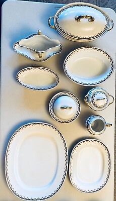 H & Co Selb Bavarian Manchester Collection fine china  92 PCS