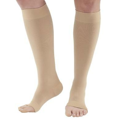 Ames Walker AW Style 291OT Luxury Opaque 20-30 mmHg Firm Compression - Open Toe
