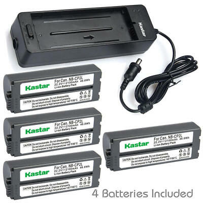 NB-CP2L Battery or Charger Canon SELPHY CP750 CP810 CP820 CP1000 CP1200 CP1300
