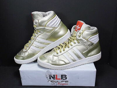 best service 2059e 340d9 ... discount adidas pro conference high g96912 gold white mens sz 10 26880  0eac9