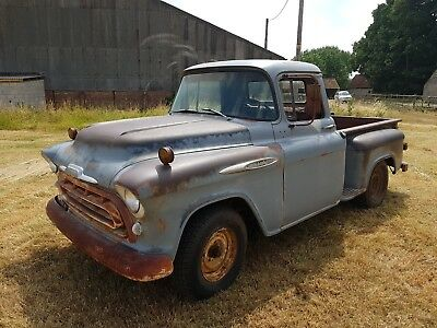 1957 Chevy 3100 Short bed Half ton step side Truck
