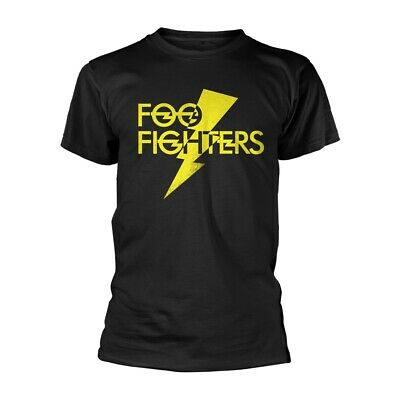 Foo Fighters Yellow Logo Dave Grohl Rock Official Tee T-Shirt Mens Unisex