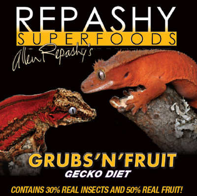 Repashy Superfoods - Grubs N Fruit - Gecko Diet / Meal Replacement Powder