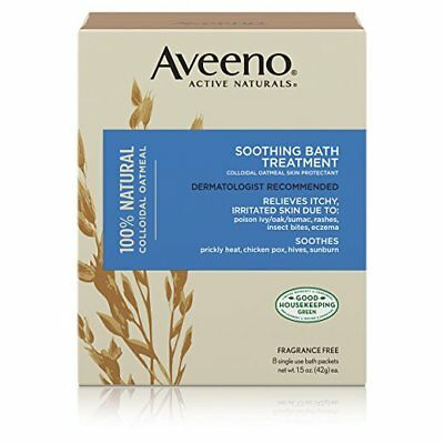 Aveeno Soothing Bath Treatment, 8 Ct (4 Pack)