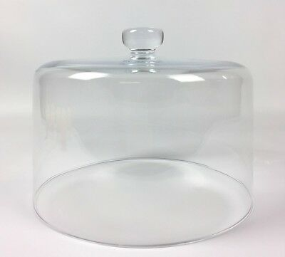 Display Cake Glass Dome Cover / Lid Diameter 25.8 cm