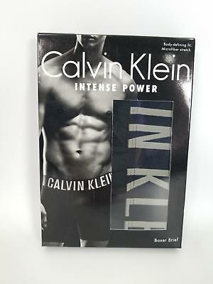 ba8a59228e Calvin Klein Men's Underwear Intense Power Micro Stretch Boxer Brief L XL