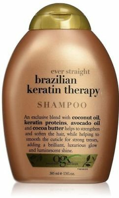 OGX Brazilian Keratin Smooth Ever Straightening Shampoo 385ml