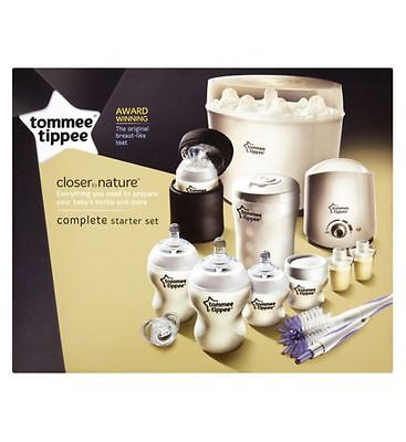 Tommee Tippee Closer To Nature Complete Starter Kit (GTC 02)