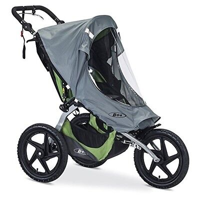 BOB Weather Shield For 2016 Fixed Wheel Single Strollers, Gray