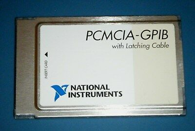 NI PCMCIA-GPIB Card (Latching), GPIB Controller, National Instruments *Tested*