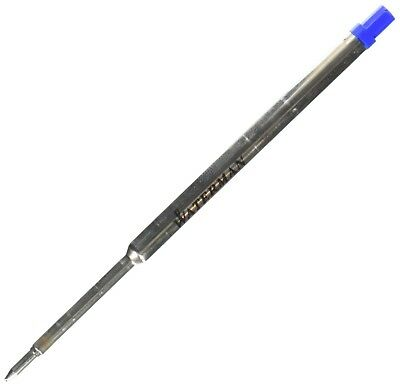 Waterman Ballpoint Refill for Ballpoint Pens, Fine point, Blue ink (734264)