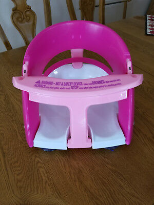 DreamBaby Infant Toddler Bath Tub Safety Seat EUC