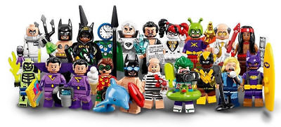 LEGO® 71020 THE BATMAN Movie Series 2 Minifiguren alle Figuren zum auswählen