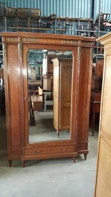 French Mahogany Ormolou Mounted Armoire