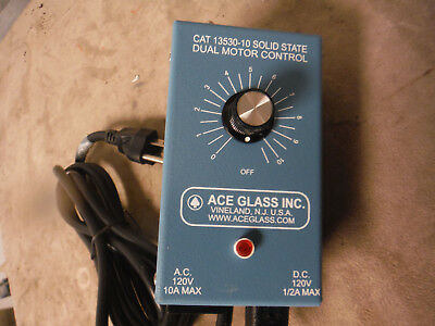 Ace Glass 13530-10 AC/DC Motor Speed and Power Controller