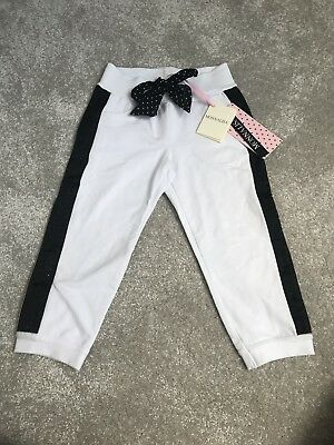 Monnalisa Girls Embellished Joggers Tracksuit Bottoms Trousers Bnwt Age 3 Years