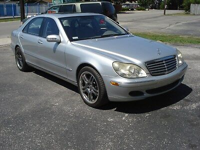 2005 Mercedes-Benz S-Class  2005 Mercedes Benz S600L V12 – fully drivable – RUST-FREE! – good condition