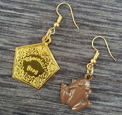Harry Potter Chocolate Frog Stud Earrings Girls Woman Metal earrings 1pair